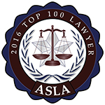 ASLA Topp 100 Lawyer