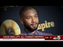 Embedded thumbnail for Jussie Smollett hoax charges dropped.